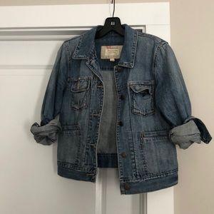 Vintage Abercrombie & Fitch denim jacket